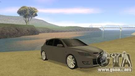 Mazda 3 v2 para GTA San Andreas