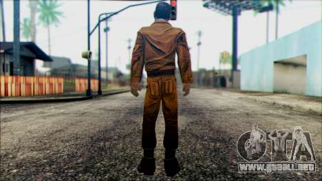 Danny from The Walking Dead: 400 Days para GTA San Andreas segunda pantalla