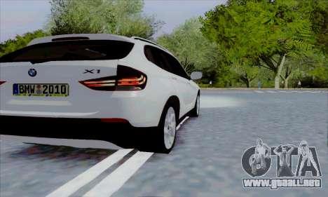Bmw X1 para la visión correcta GTA San Andreas