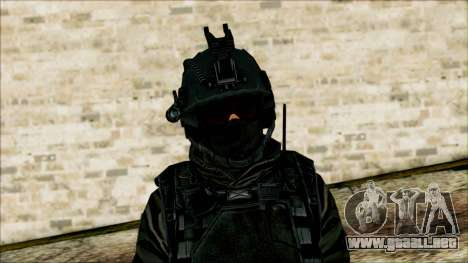 Los soldados aerotransportados (CoD: MW2) v1 para GTA San Andreas tercera pantalla