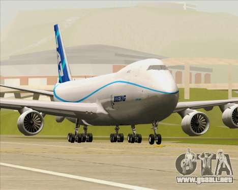 Boeing 747-8 Cargo House Livery para las ruedas de GTA San Andreas