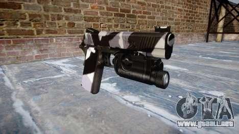 Pistola De Kimber 1911 Siberia para GTA 4