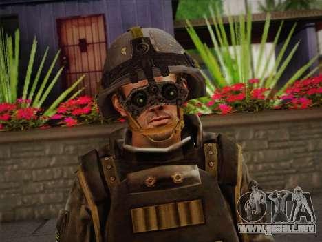 Боец СВР (Tom Clancy Splinter Cell) v1 para GTA San Andreas tercera pantalla