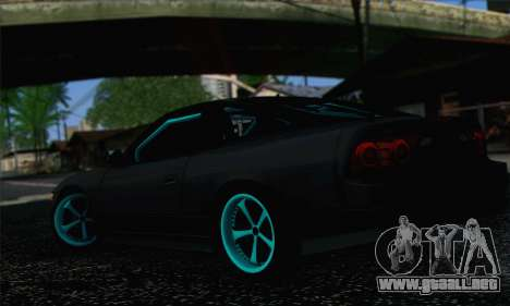 Nissan 240SX Drift Monster Energy para GTA San Andreas left