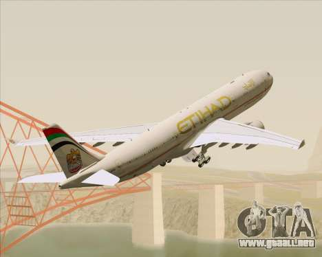 Airbus A330-300 Etihad Airways para GTA San Andreas