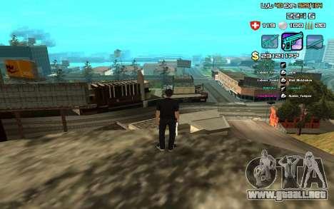 C-HUD by SampHack v.12 para GTA San Andreas segunda pantalla