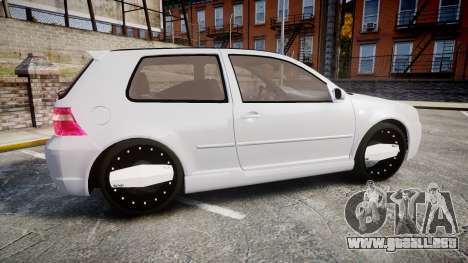 Volkswagen Golf Mk4 R32 Wheel2 para GTA 4 left