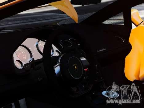 Lamborghini Gallardo LP560-4 para GTA 4 vista lateral
