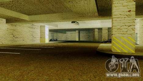 Nuevas texturas de Aparcamiento en la LSPD para GTA San Andreas