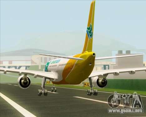 Airbus A330-300 Cebu Pacific Air para el motor de GTA San Andreas