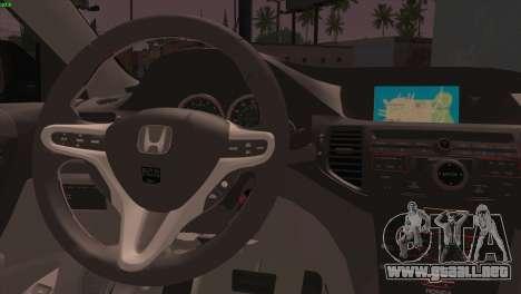 Honda Accord Mugen para GTA San Andreas vista posterior izquierda