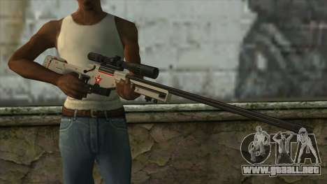 Sniper Rifle from PointBlank v2 para GTA San Andreas tercera pantalla
