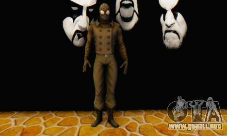 Skin The Amazing Spider Man 2 - DLC Noir para GTA San Andreas sucesivamente de pantalla
