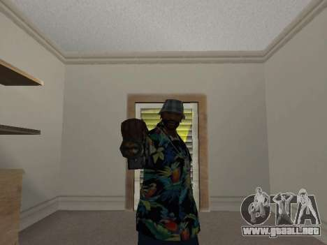 Pose gangster para GTA San Andreas sucesivamente de pantalla