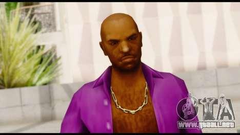 Purple Shirt Vic para GTA San Andreas tercera pantalla