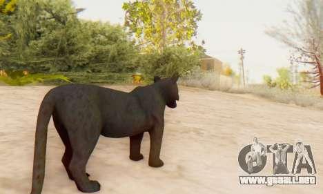 Black Panther (Mammal) para GTA San Andreas quinta pantalla