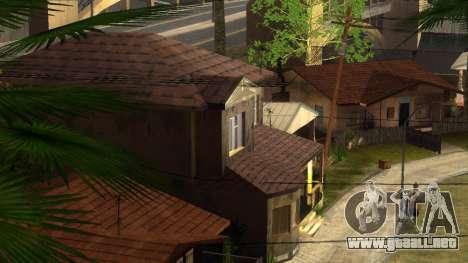 Nuevas texturas en HD casas en grove street v2 para GTA San Andreas