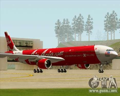 Airbus A330-300 Air Asia X para GTA San Andreas left