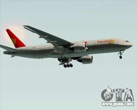 Boeing 777-200ER Air China para la vista superior GTA San Andreas