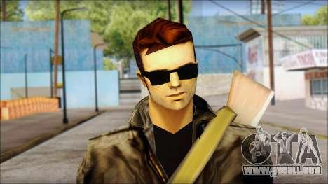 Shades and Gun Claude v2 para GTA San Andreas tercera pantalla