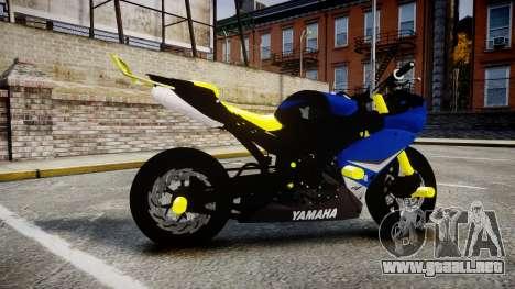 Yamaha R1 2007 Stunt para GTA 4 left