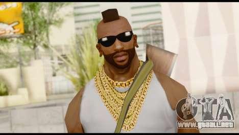 MR T Skin v8 para GTA San Andreas tercera pantalla