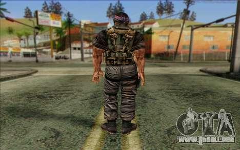 Los soldados de la Rogue Warrior 3 para GTA San Andreas segunda pantalla