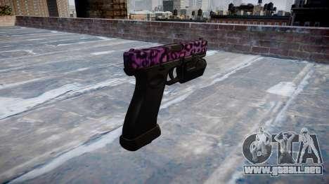 Pistola Glock 20 de party rock para GTA 4 segundos de pantalla