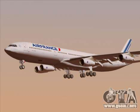 Airbus A340-313 Air France (New Livery) para el motor de GTA San Andreas