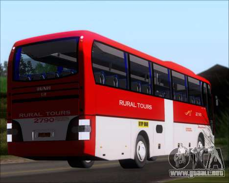 MAN Lion Coach Rural Tours 2790 para GTA San Andreas