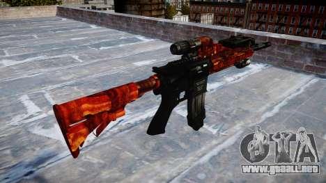 Automatic rifle Colt M4A1 bacon para GTA 4 segundos de pantalla