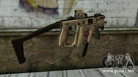 Kriss Super from PointBlank v2 para GTA San Andreas segunda pantalla