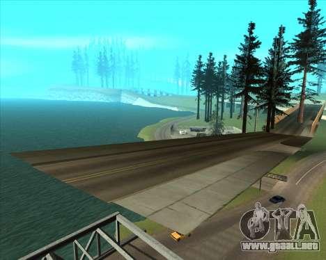 Sky Road Merdeka para GTA San Andreas séptima pantalla
