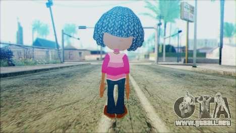 Libby Folfax from Jimmy Neutron para GTA San Andreas segunda pantalla