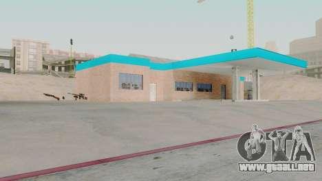 Nuevas texturas de garaje en San Fierro para GTA San Andreas segunda pantalla