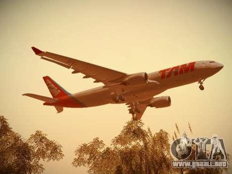 Airbus A330-200 TAM Airlines para visión interna GTA San Andreas