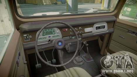 Toyota FJ40 Land Cruiser 1978 v1.7 para GTA 4 vista hacia atrás