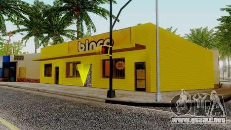 Nuevas texturas para Binco en grove street para GTA San Andreas