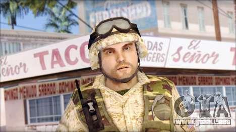 USA Soldier para GTA San Andreas tercera pantalla