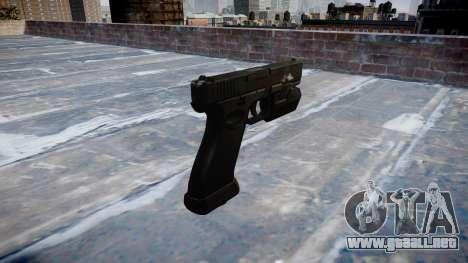 Pistola Glock 20 de fantasmas para GTA 4 segundos de pantalla