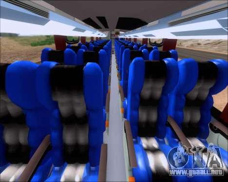 Busscar Vissta Buss LO Faleca para GTA San Andreas vista hacia atrás
