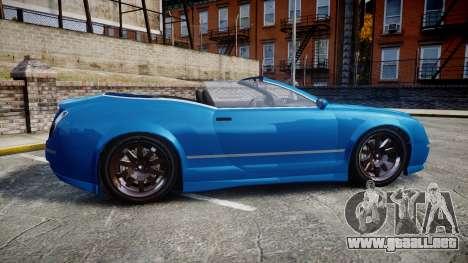 GTA V Enus Cognoscenti Cabrio para GTA 4 left