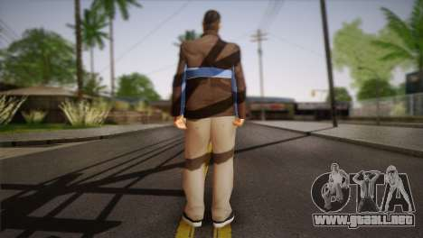 Russian Mafia Skin para GTA San Andreas segunda pantalla