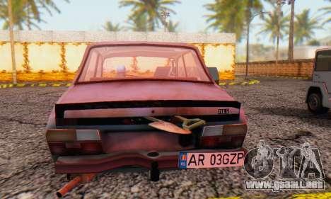 Dacia 1310 MLS Rusty Edition 1988 para GTA San Andreas vista posterior izquierda