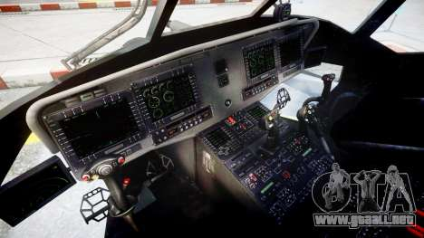 Sikorsky MH-X Silent Hawk [EPM] v2.0 para GTA 4 vista hacia atrás
