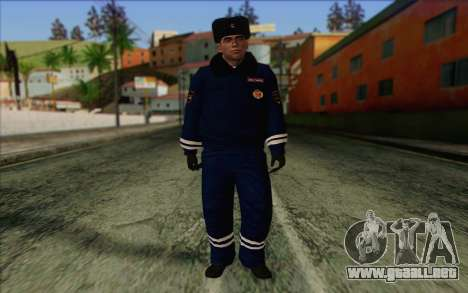 DPS la Piel de 1 para GTA San Andreas