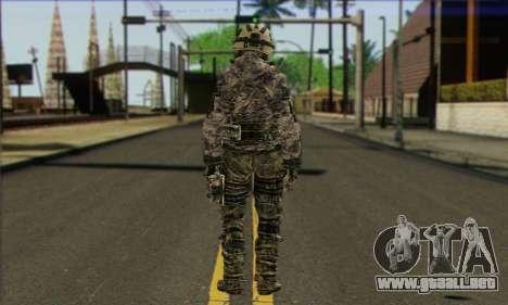 Task Force 141 (CoD: MW 2) Skin 1 para GTA San Andreas segunda pantalla
