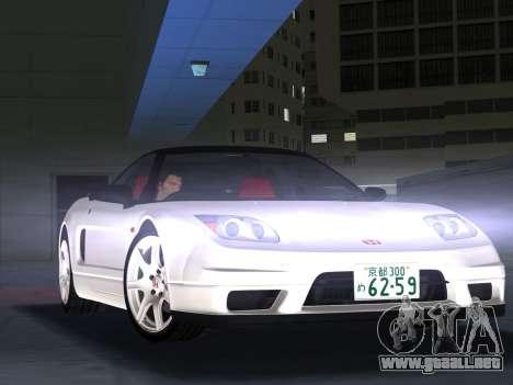 Honda NSX-R para GTA Vice City left