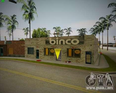 Rompe tienda de Binco para GTA San Andreas