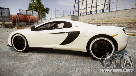 McLaren 650S Spider 2014 [EPM] Bridgestone v3 para GTA 4 left